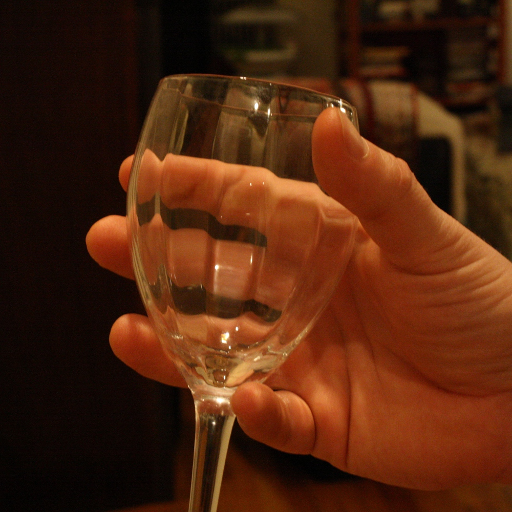 Speaking the local vinacular how to hold a wine glass properly the party grip also the easiest grip ccuart Gallery