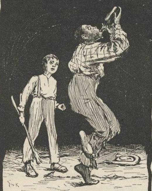 the importance of a conscience in huckleberry finn by mark twain Transcendentalism exposed in huck finn: what twain didn  the adventures of huckleberry finn, by mark twain,  includes in huck finn is the importance of a.