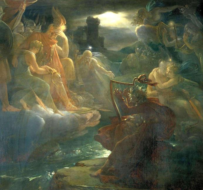 Le mythe d'Ossian gerard
