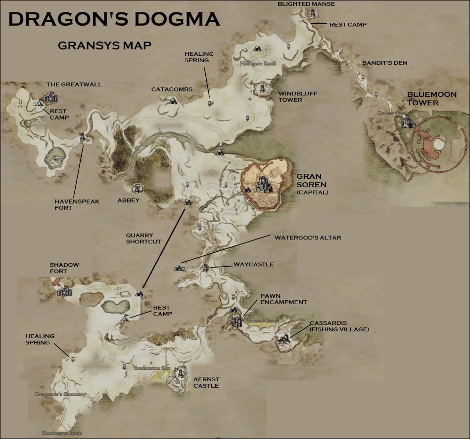 Gaming Reconcilation: How to find the Griffin in Dragon's Dogma. on