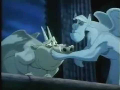 Gargoyles The Hunchback of Notre Dame 1996 animatedfilmreviews.blogspot.com