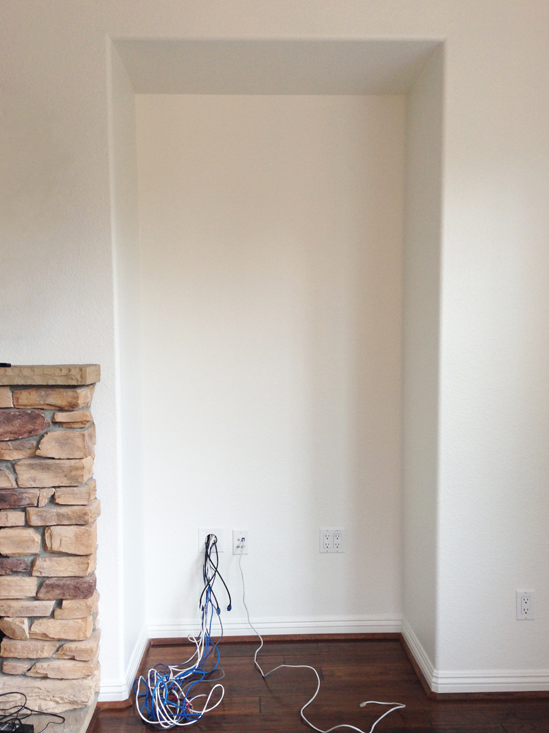 living room niche solution