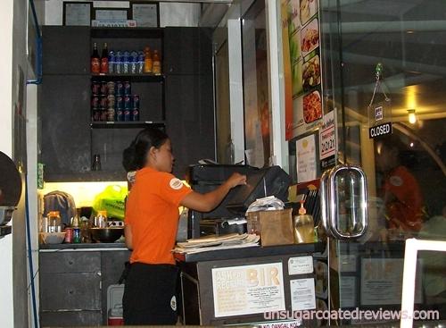 Longganisa Sorpresa waitress