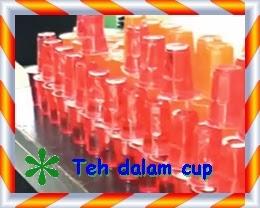 teh dalam kemasan cup plastik