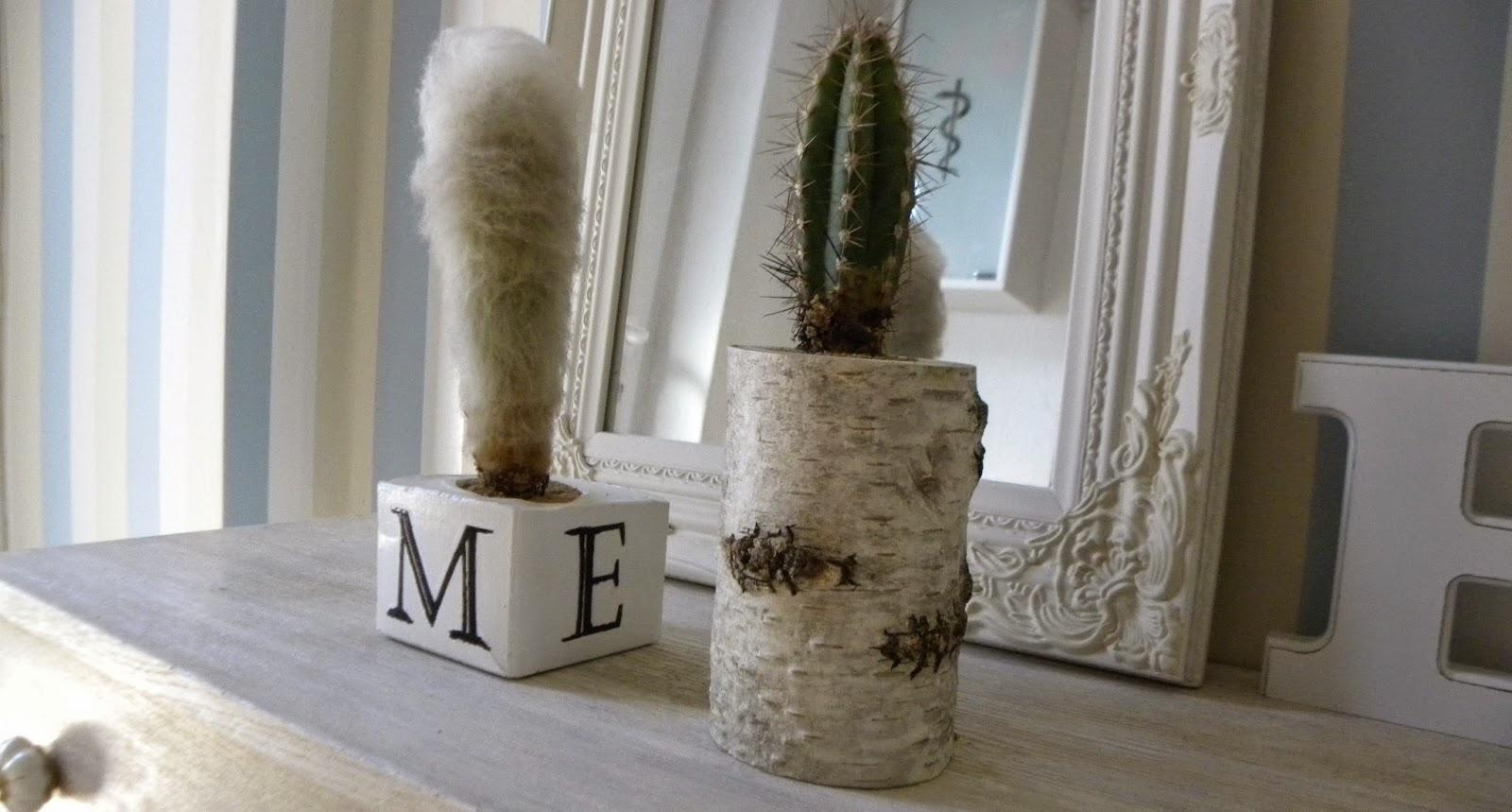 Mein liebes frollein: pflanztopf aus birkenstamm