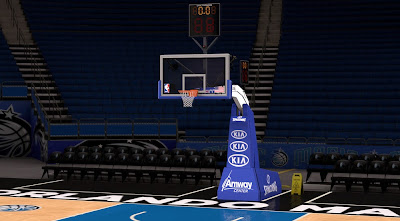 NBA 2K14 Orlando Magic Court Mod