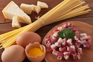 Ingredienti degli Spaghetti alla Carbonara