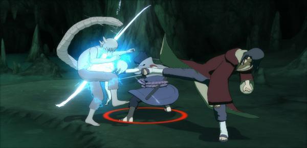 Sasuke and Itachi with Kabuto