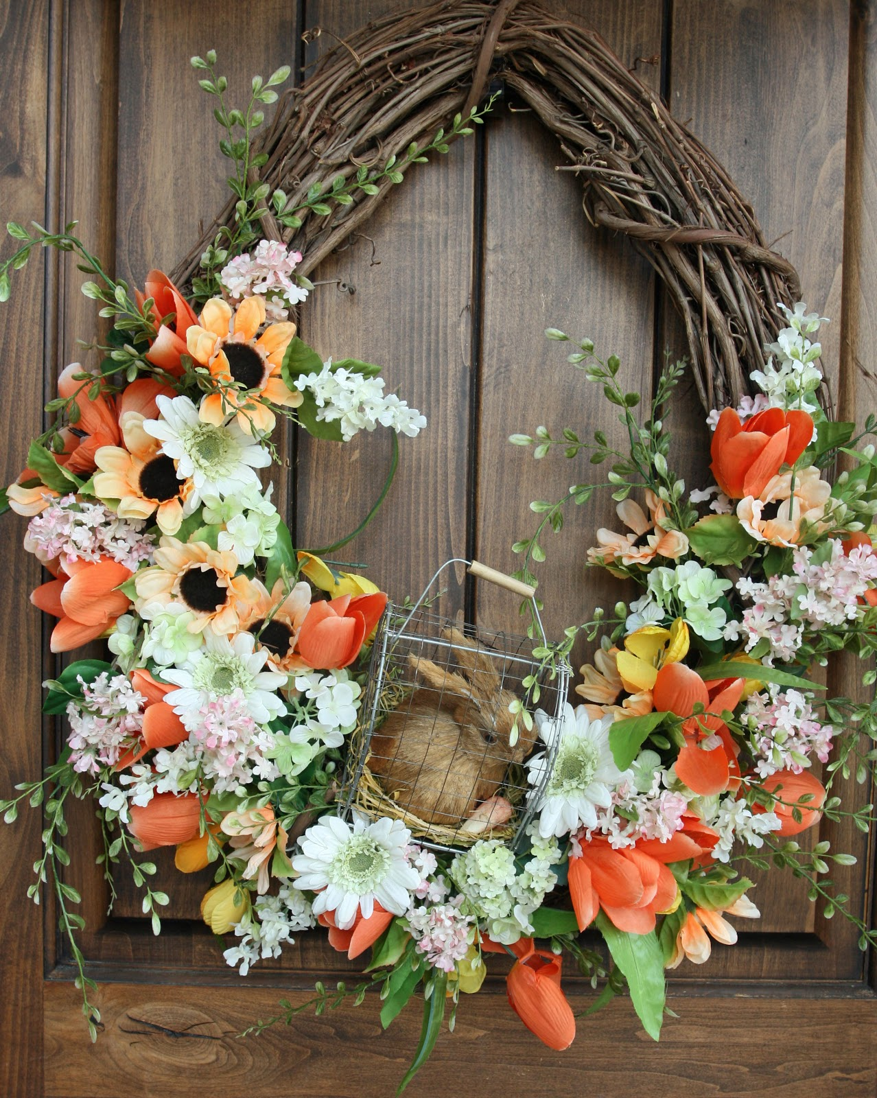 Spring Decorations For The Home Part - 42: Spring Porch/ Spring Decor Decorating Series, Part 3