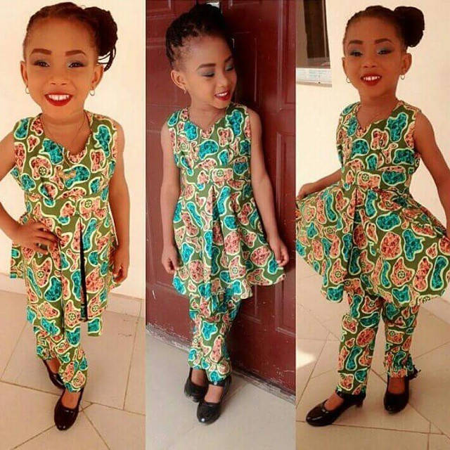 Creative Ankara Design For Children Dezango Fashion Zone