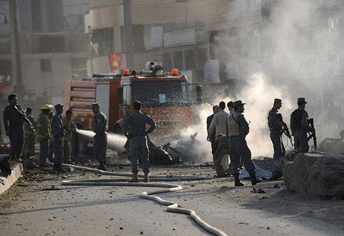 serangan dubes Inggris Kabul