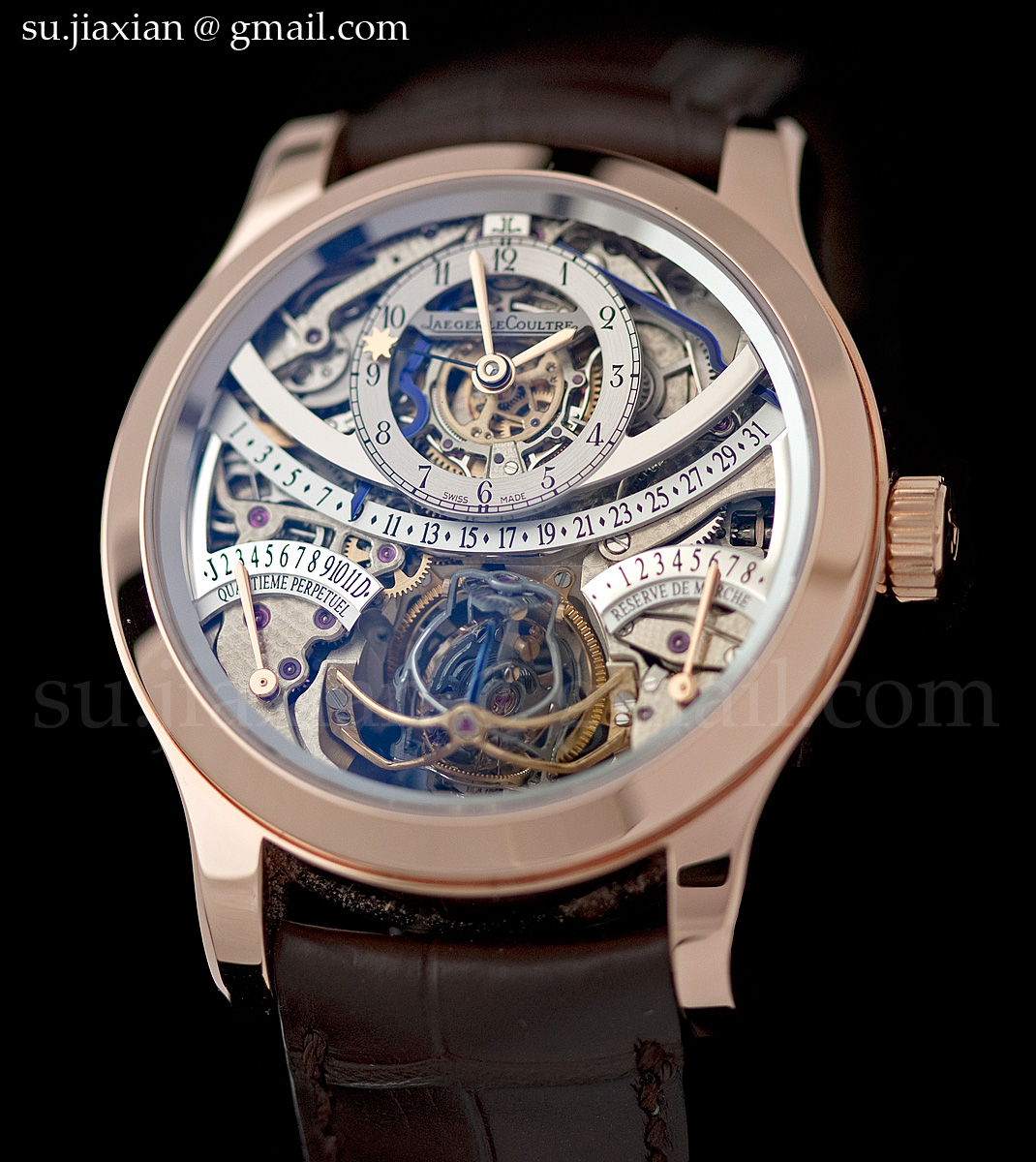 watches by sjx hands on with the jaeger lecoultre gyrotourbillon i in rose gold with live photos