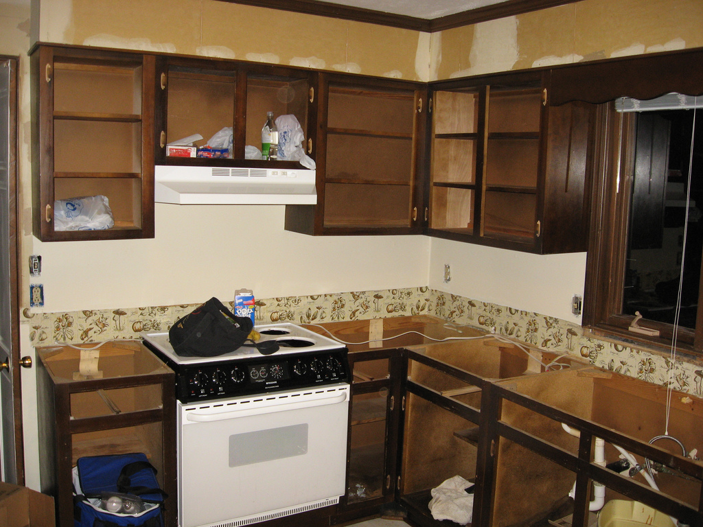 Kitchen decor cheap kitchen remodel for Kitchen cabinet remodel