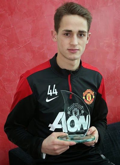 Adnan Januzaj Manchester United Player of The Month 20132014