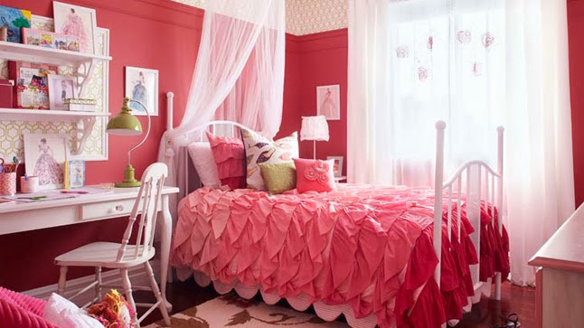 Dormitorios para adolescentes color rosa dormitorios for Modele chambre fille 10 ans