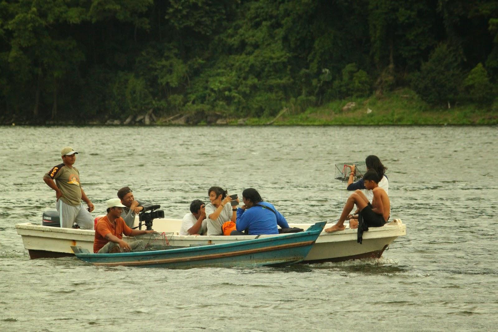 Gampong Wisata Aneuk Laot Jejak Petualang Trans 7 Liputan Lobster Di Danau Aneuk Laot Sabang
