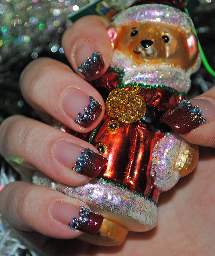 Christmas Nail Art Ideas -34