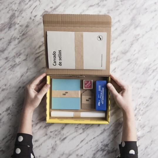 Kit carvado de sellos de Fábrica de Texturas