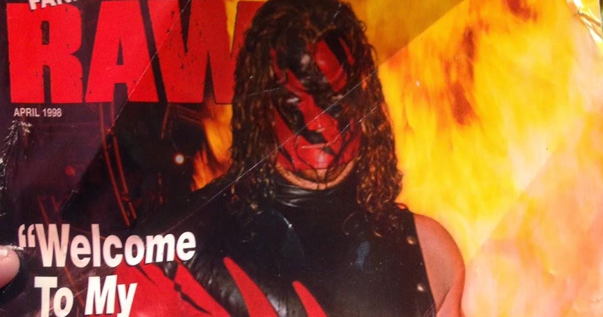 From the loft: WWF Raw Magazine - January 1998 ~ Retro Pro