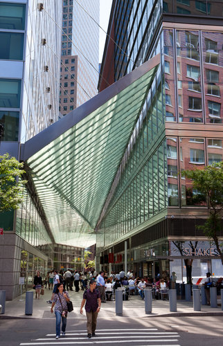 A nice architectural canopy in Battery Park City NY & THOUGHTS ON ARCHITECTURE AND URBANISM: A nice architectural canopy ...