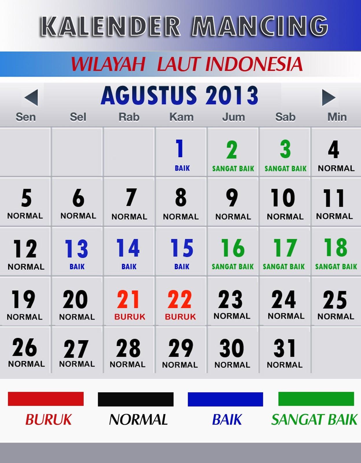 1248 x 1600 · 239 kB · jpeg, Kalender Mancing Bulan AGUSTUS 2013 ini ...