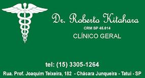 Dr. Roberto Issamu Kitahara CRM SP 45.014 CLÍNICO GERAL