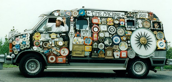 Hoop TIME MACHINE 2002 Art Van