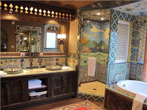 boho bathroom. 10 Great Boho Bathroom Inspiration The House of