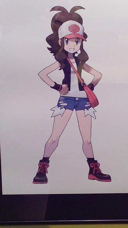 Exposición Pokémon Entrenadora Blanca y Negro