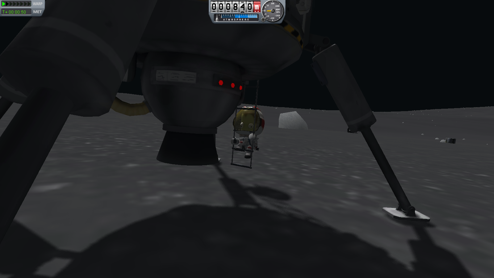 Kerbal KSP 0.16: Mun Rescue EVA Part 2 | Kerbal Space ...