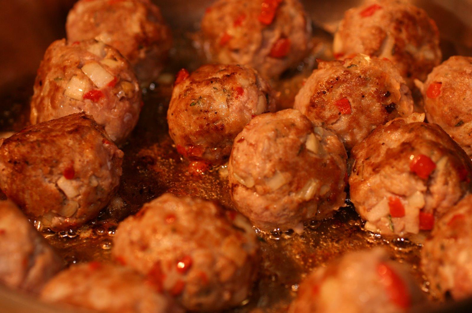 Kitchen Diaries Challenge 2013: Chilli Turkey Meatballs