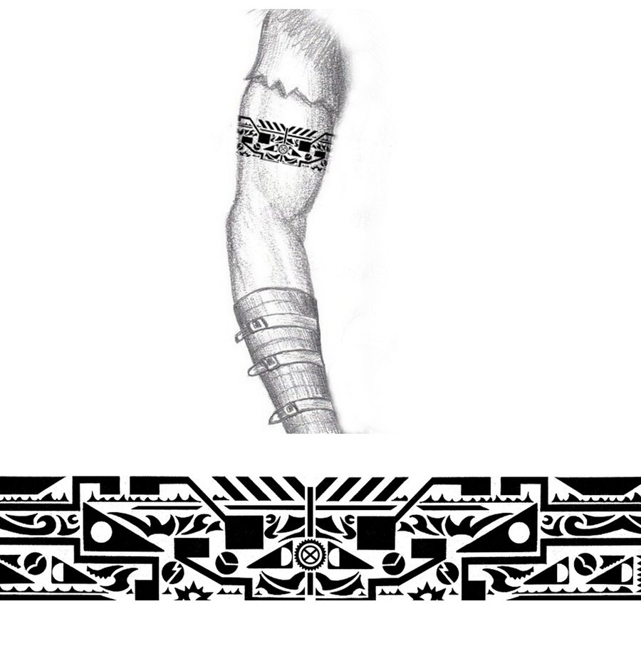 tattoo tribal armbands De Serbagunamarinecom Maori Pinterest Pin Faixa Tattoo Tatuagem on