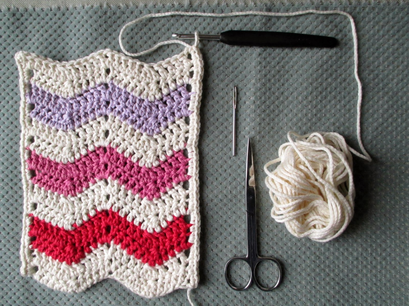Mrsbrownmakes Ripple Stitch Tutorial