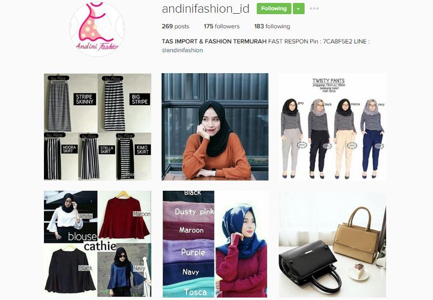 andinifashion_id : Tas Import & Fashion Termurah