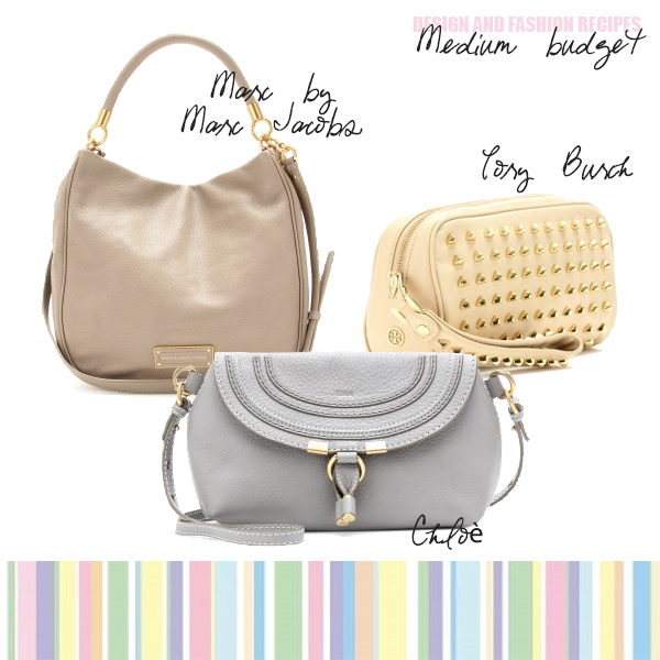 Pastel handbags SS 2013 by Design and fashion recipes
