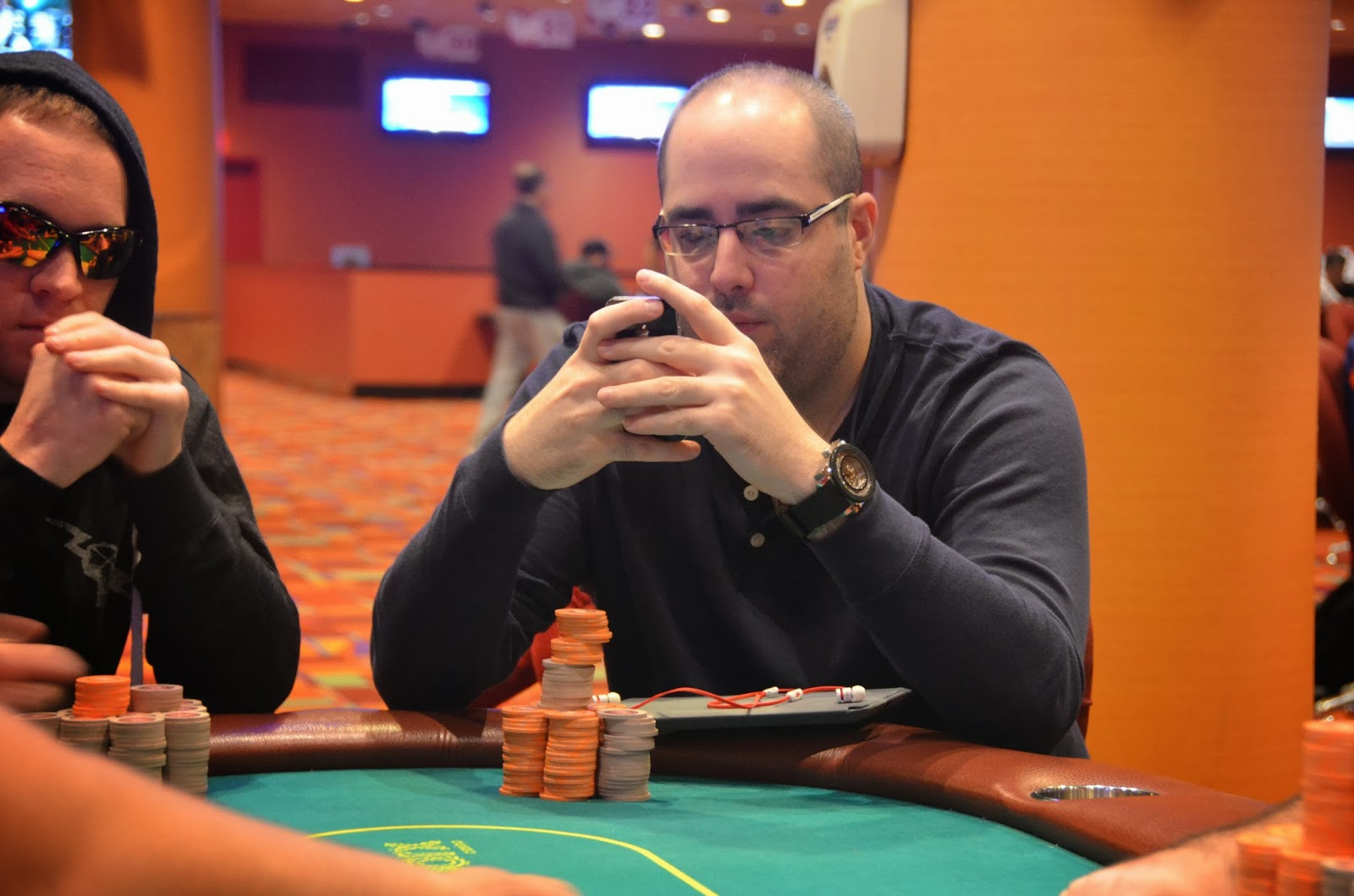 Parx big stax iv big stax 1000 day 3 16th place jaffee 5 153 for Parx poker room live game report