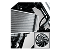 liquid cooled auto fan