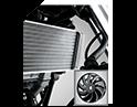 liquid cooled auto fan