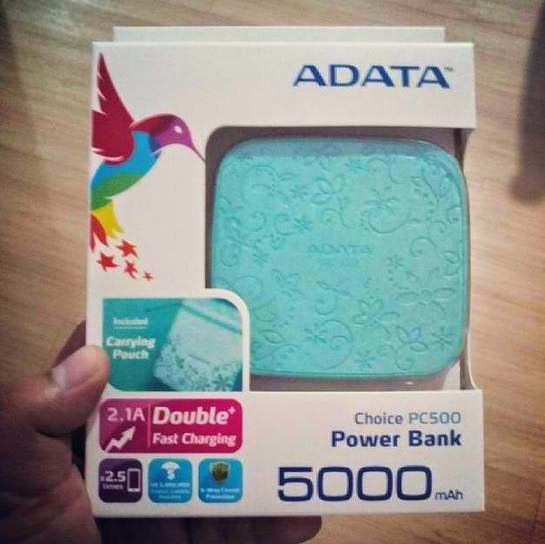 TeknoGadyet Giveaway: ADATA PC500 5000mAh Power Bank