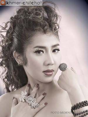 chhaiy lidalane khmer singer with new hair style