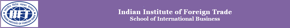 IIFT's Official Blog