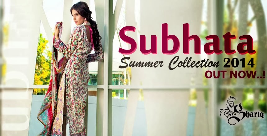 Subhata Designer Embroidered Lawn Dresses