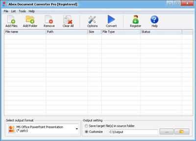 Abex Document Converter Pro v3.8.0