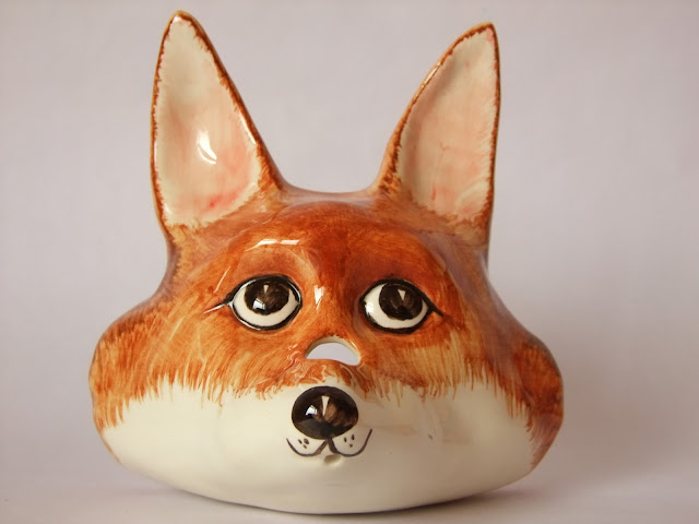 Babbacombe Pottery Fox Phillip Laureston Vintage www.retrotracevintage.co.uk