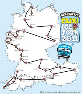 Ben & Jerry's - Fair Ice Tour 2011