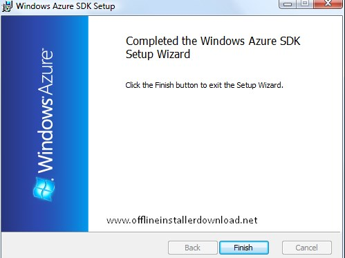 Windows Azure SDK Offline Installer latest