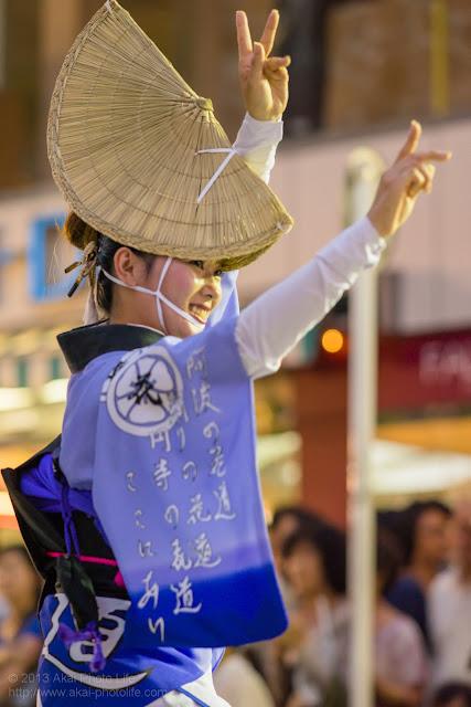 三鷹阿波踊り 三鷹花道連の女踊り