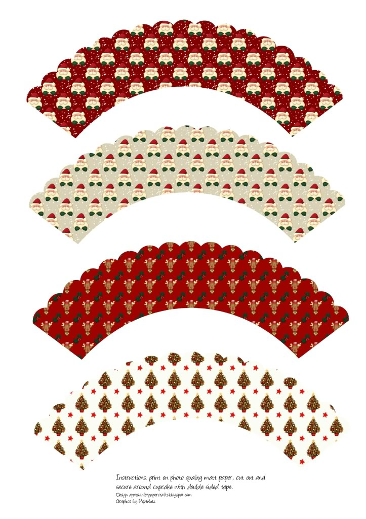 Cupcakes wrappers para imprimir - Imagui