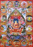 THANGKA - La vida de Buddha