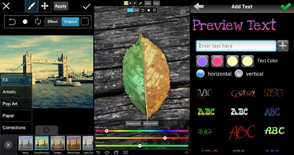 PicsArt useful for photo editing